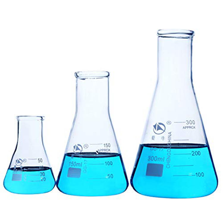Lab Triangle Flask Beaker