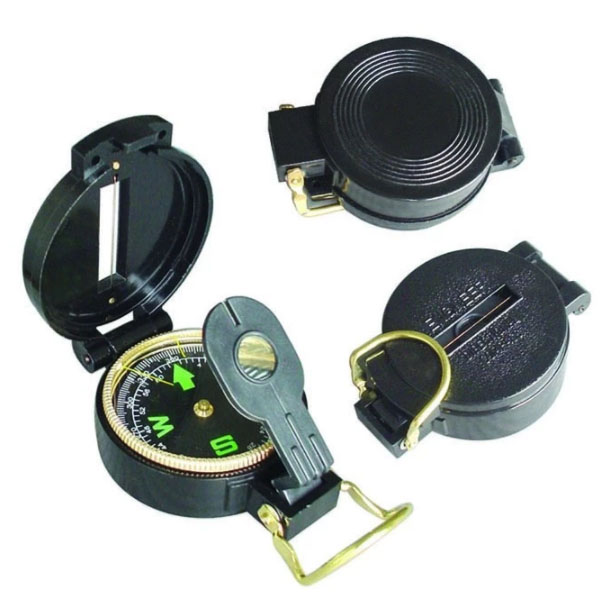 Lensatic Travel Compass