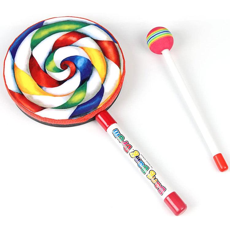 Drum Tangan Bentuk Lollipop