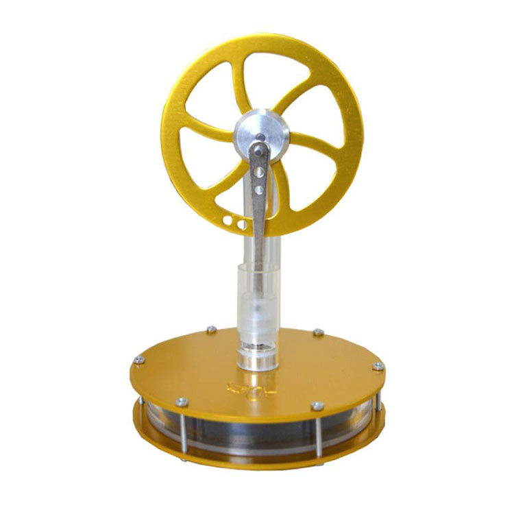 Low Temperature Stirling Engine Model