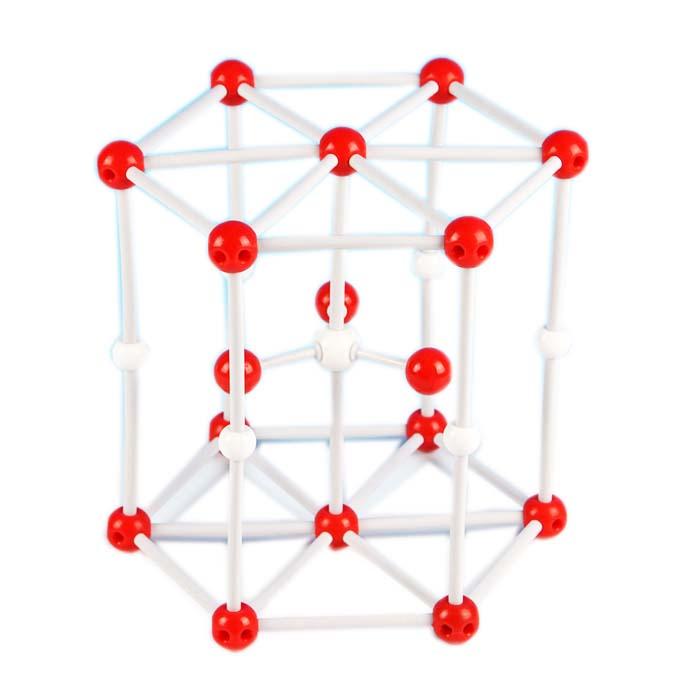 Model Struktur Molekuler Magnesium