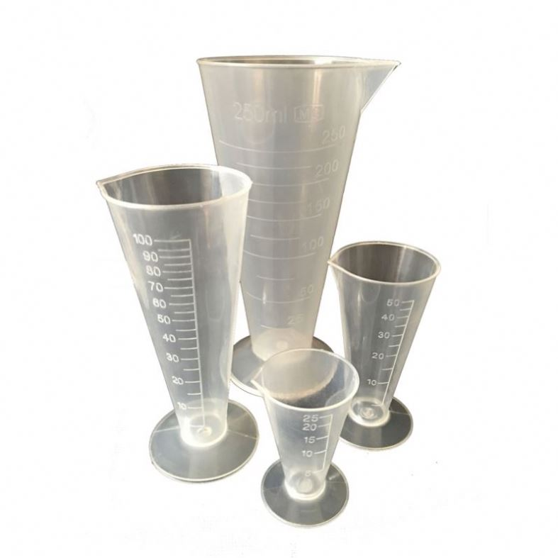 Plastic Conical Beakers