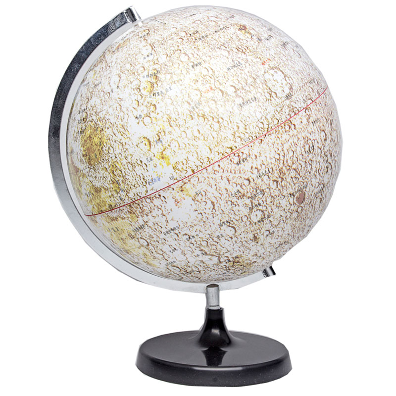Plastic Moon Model Globe