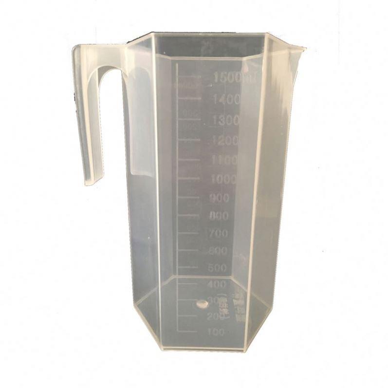 Plastic Rhombic Measuring Beaker