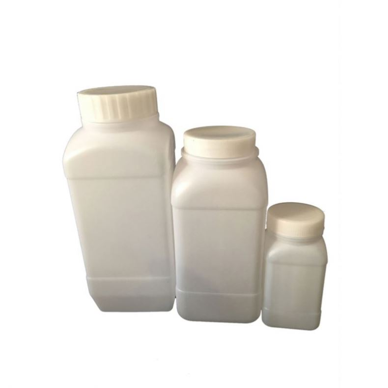 Plastic Square Shape Wide Mouth Washing Bottles