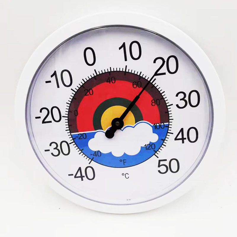 Plastic Thermometer And Hygrometer