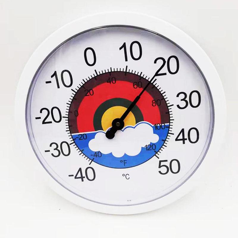 Thermometer Plastik Lan Hygrometer