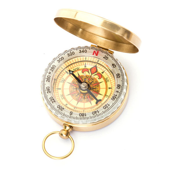 Pocket Compass For Camping