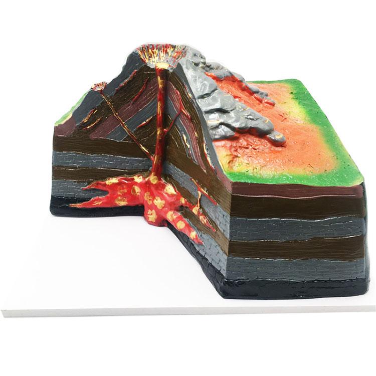 Model Volcano Pvc