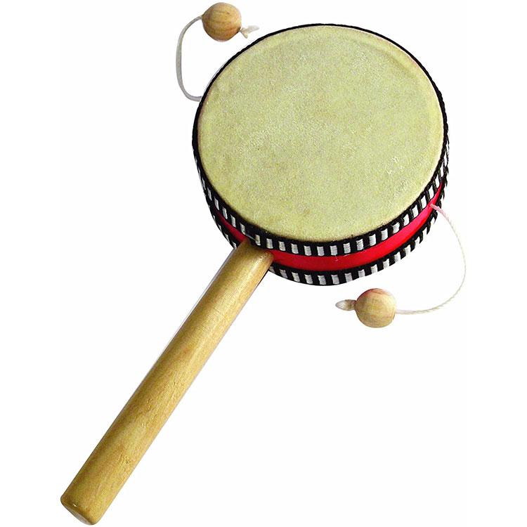 Drum Tangan Rattle Spinning