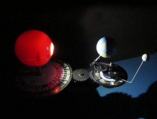 Sun Earth Moon Orbital Planetarium Model