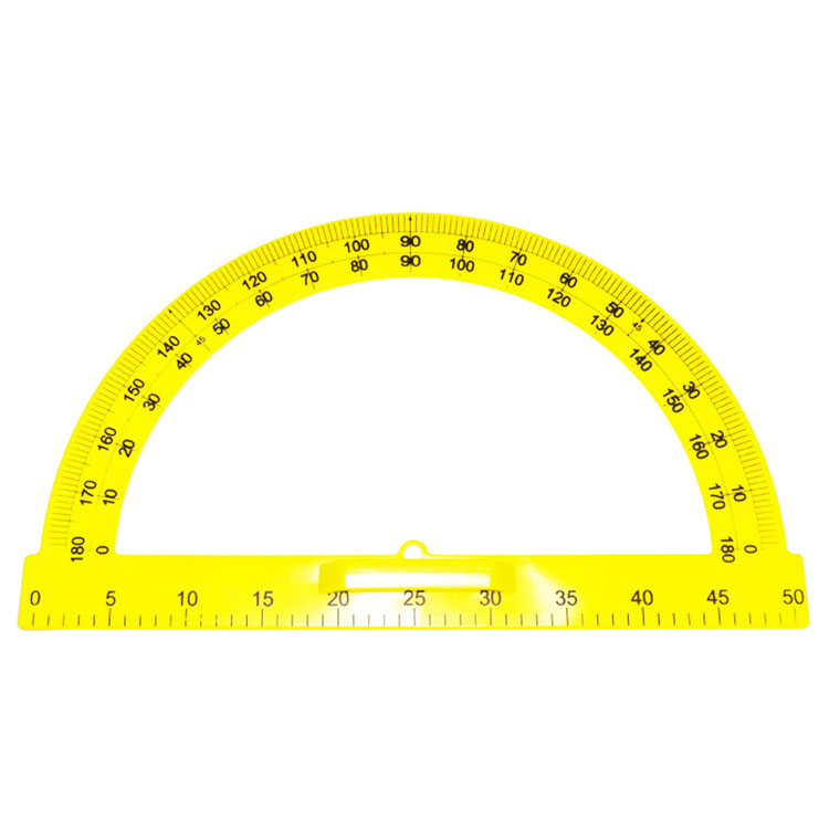 Teaching Plastic Protractor