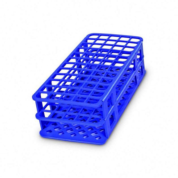 Test Tube Rack Plastic Basket Style