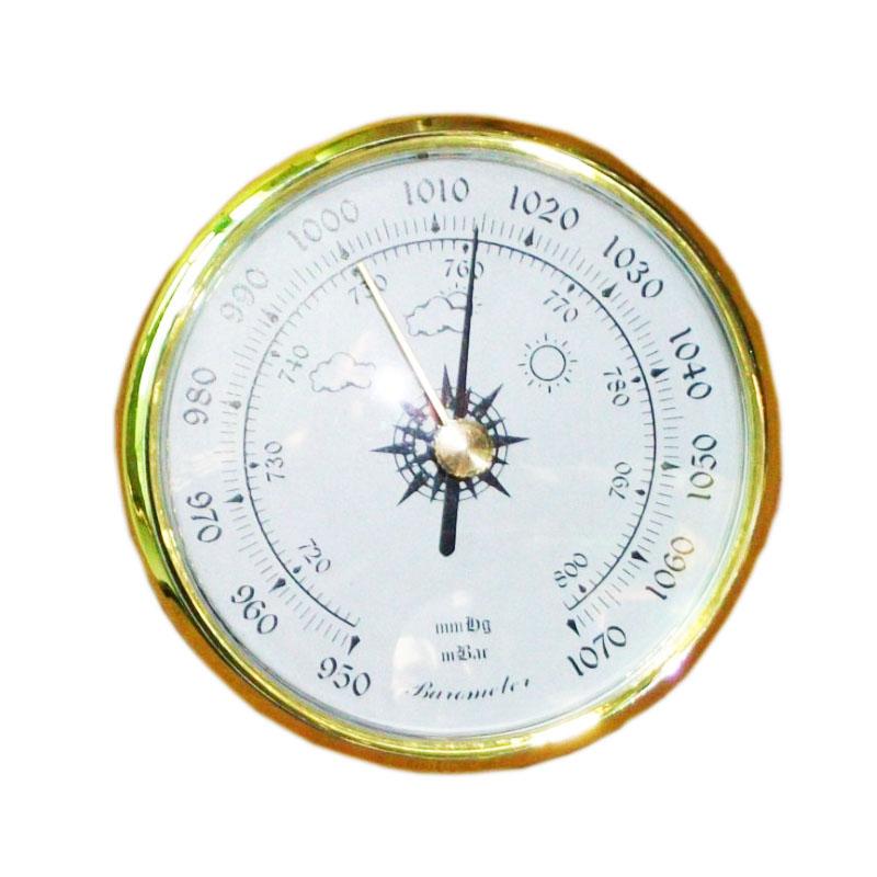 ໂມງຝາໂມງ Barometer Dia 80mm