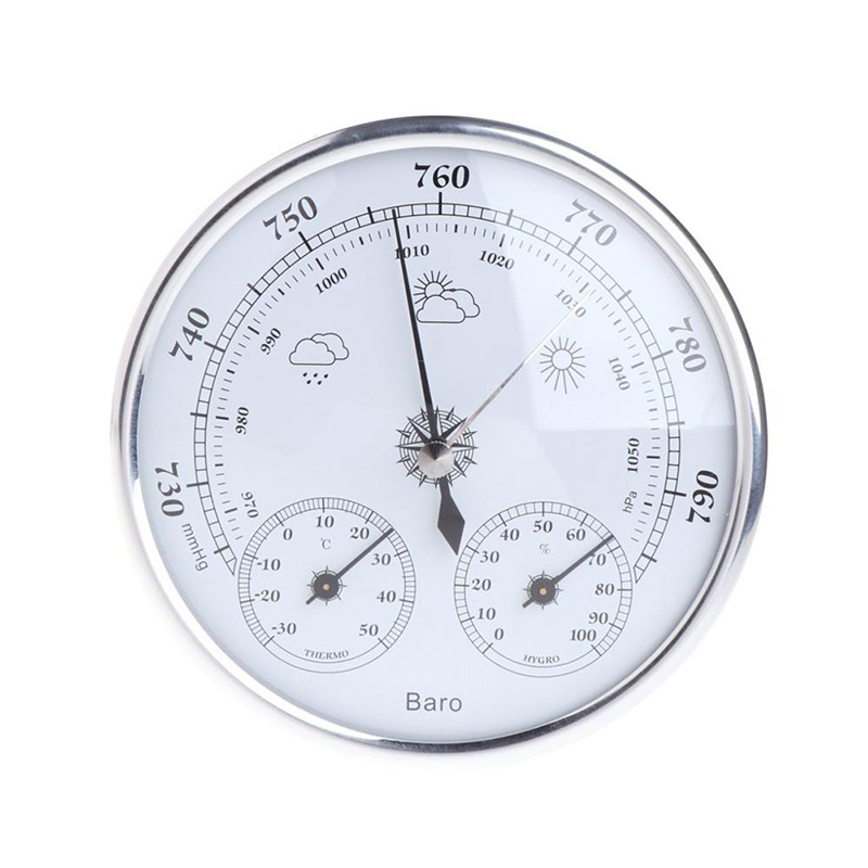 Weather Station 3 In 1 Barometer Thermometer Hygrometer