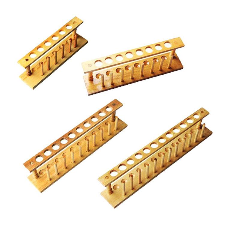 Wood Test Tube Racks