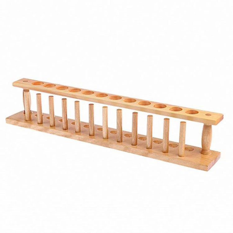 Wooden Test Tube Rack