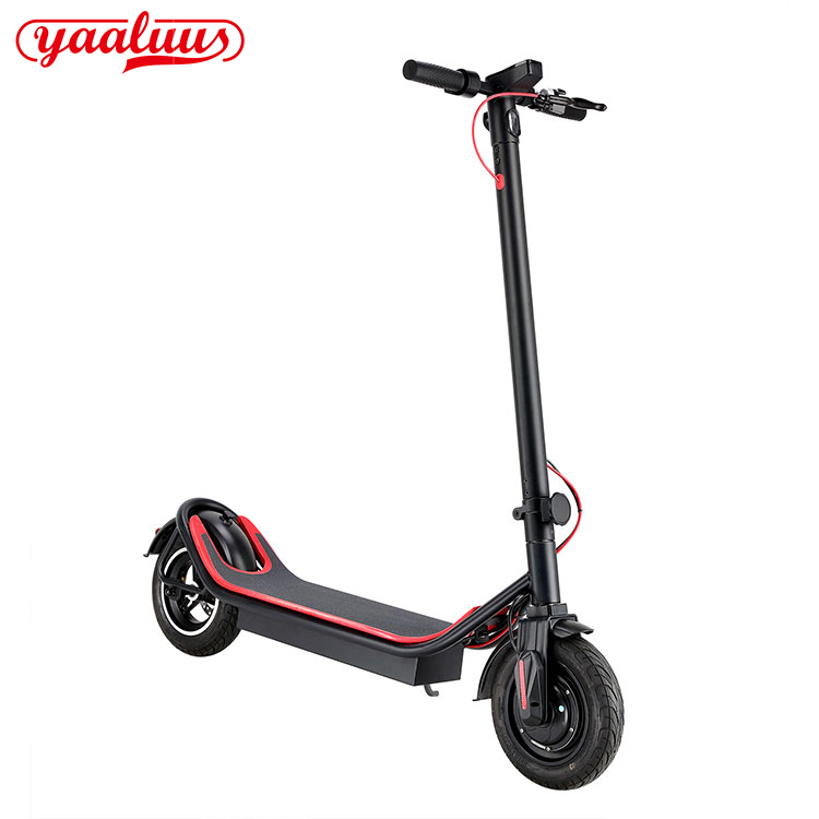 12.5 Mah 350W 10 Inch Tire Electric Scooter