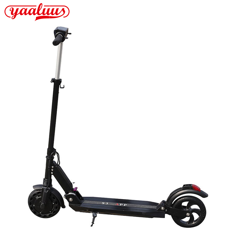 How to fold and retract the Adjustable Adult Electric Scooter?