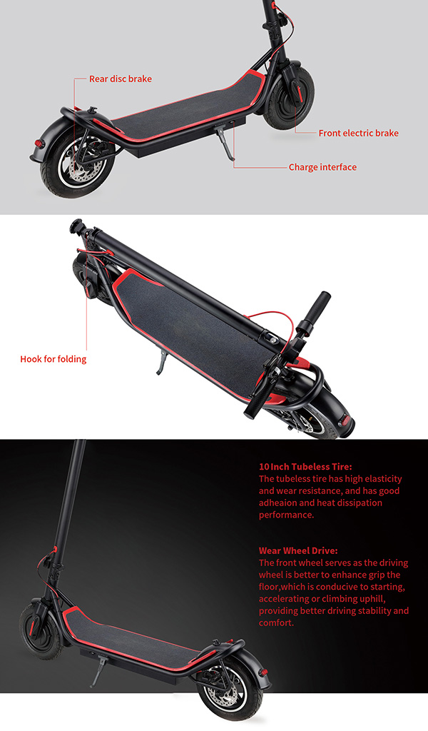 Adult 8 Inch Wheel Electric Scooter