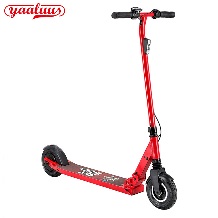 Adjustable 8 Inch Electric Scooter
