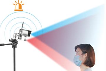 Sistema de cámara de lectura de temperatura: detección de fiebre