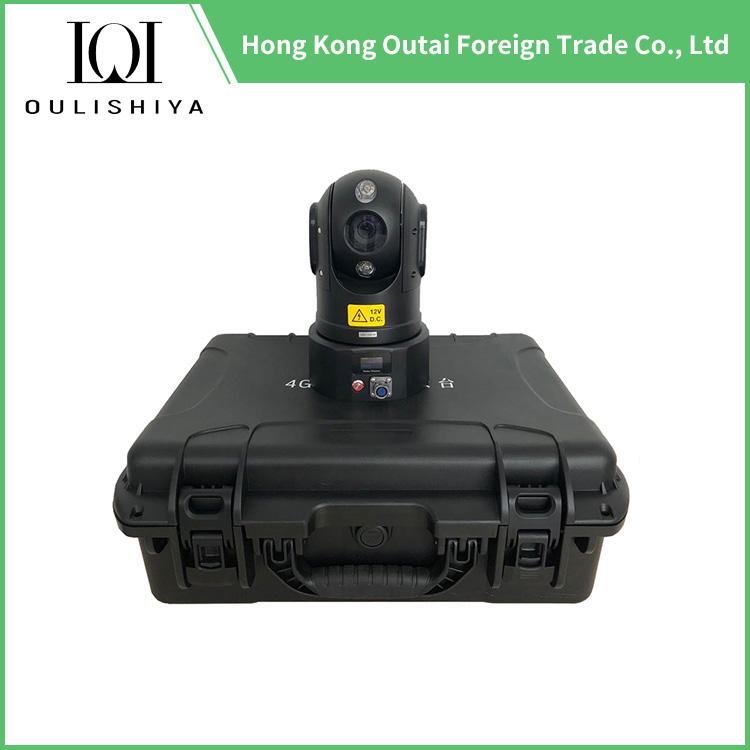 4G GPS WIFI 1080P HD Rapid Deployment Mobile PTZ Camera Recorder