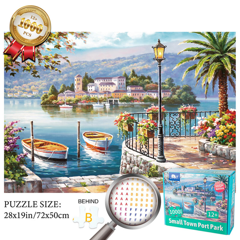 Jigsaw Puzzle 1000 Pieces Made In China