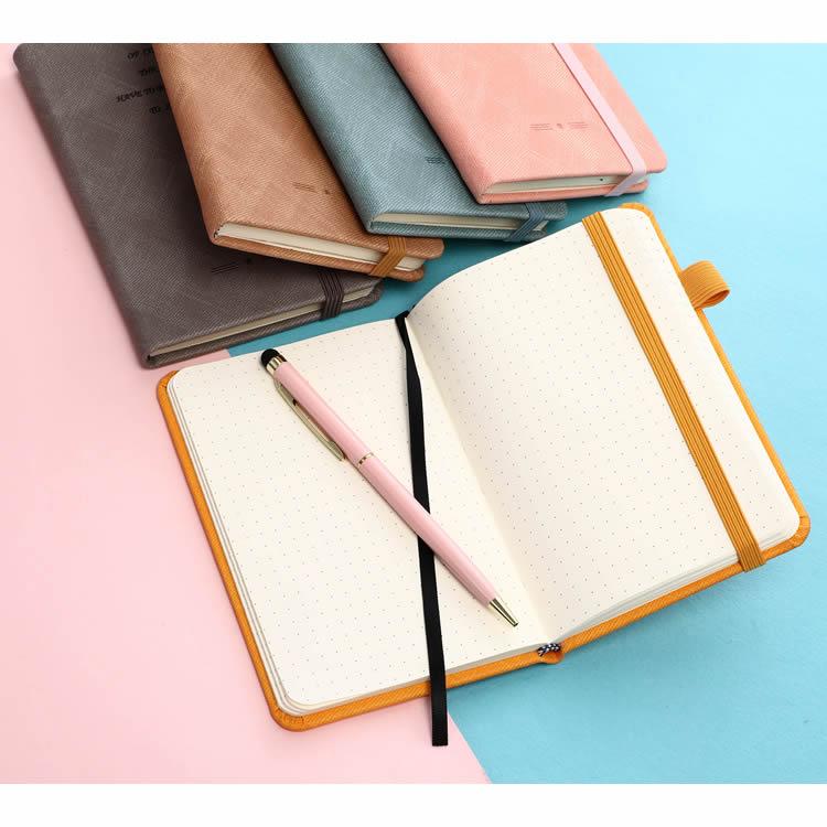 Hardcover Printed PU Custom Notebook