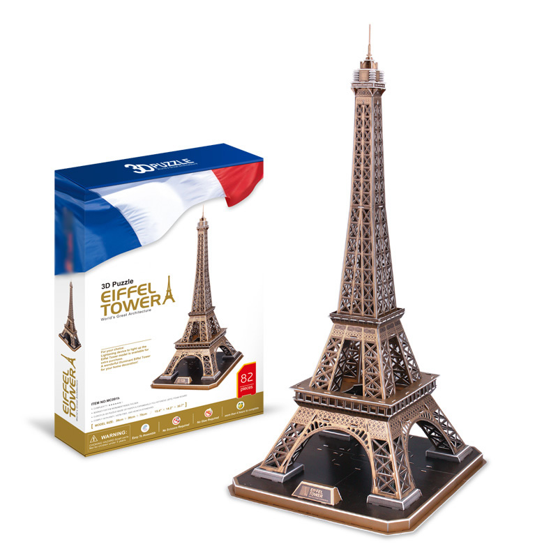 Low Price Eiffel Tower 3D Puzzle