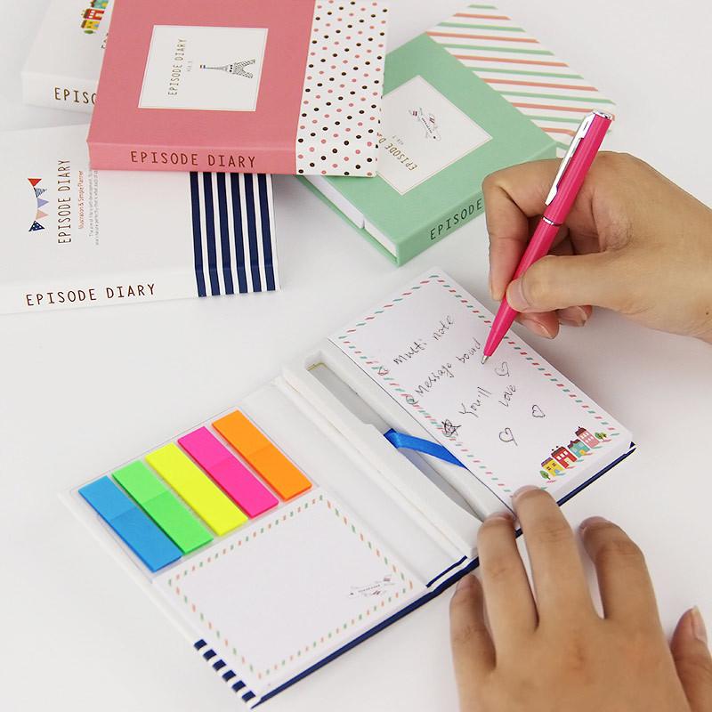 جدید ورودها Notepad_note پد و قلم هدیه تنظیم شده دفترچه یادداشت یادداشت مهم مهم با قلم