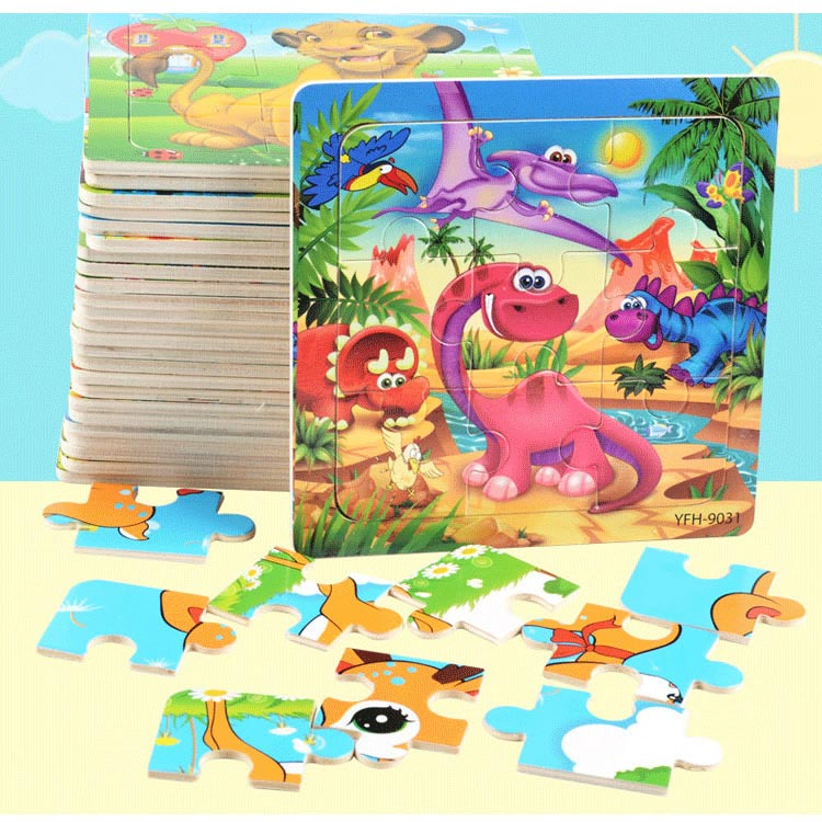 Wood Puzzles For Kids