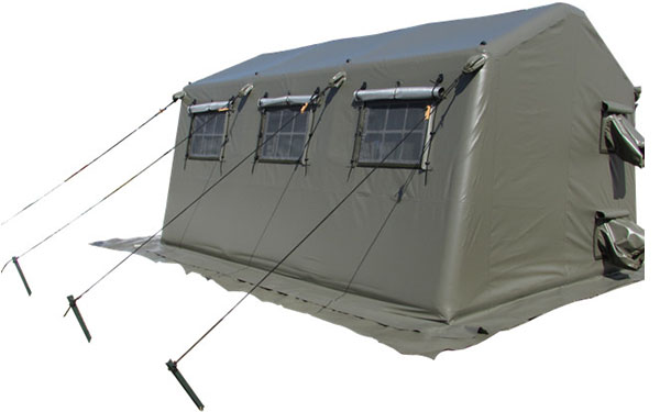 Inflatable Military Tent Order from America Client