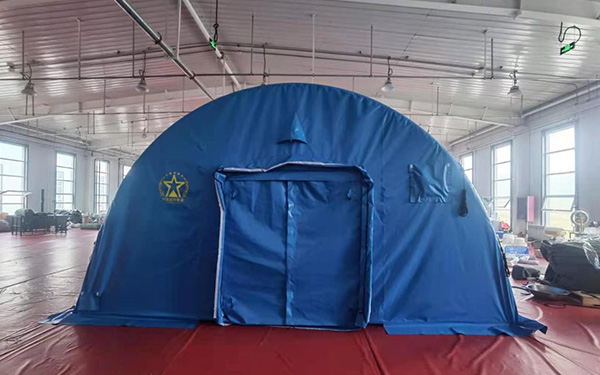 Characteristics of high pressure inflatable tent