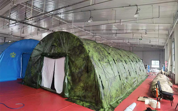 Inflatable High Pressure Tent