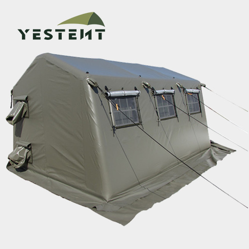 Customized Portable Camouflage Waterproof Military Inflatable Relief Tent