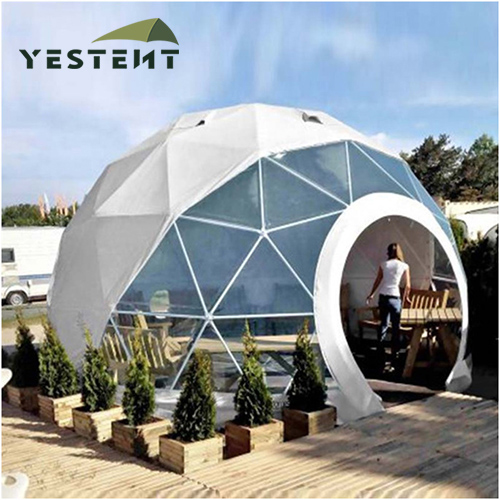 Durable Frame Geodesic Tent
