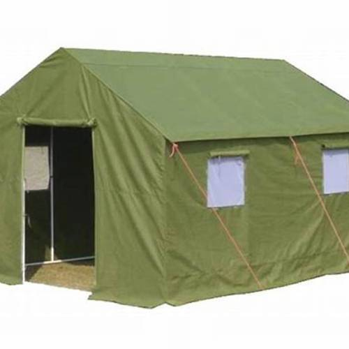 Frame Military Tent