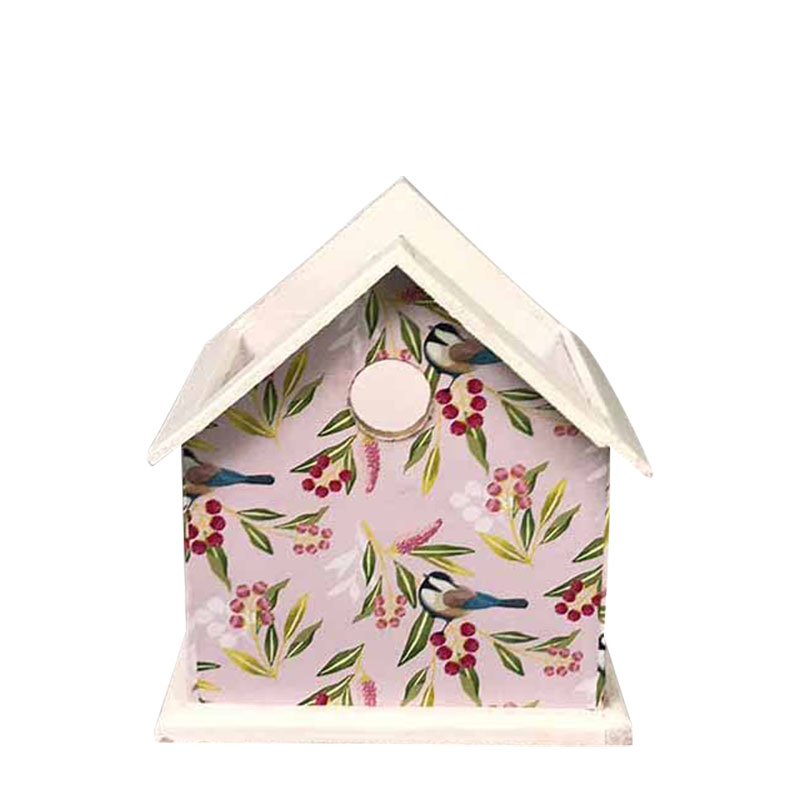 Bird House Spring Wood Planter