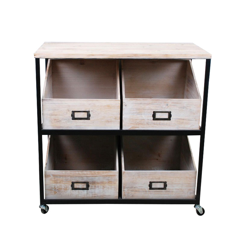 Cabinet with 6 Drawers