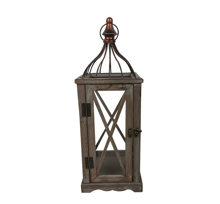 Vintage Rustic Wooden Candle Lantern Collection