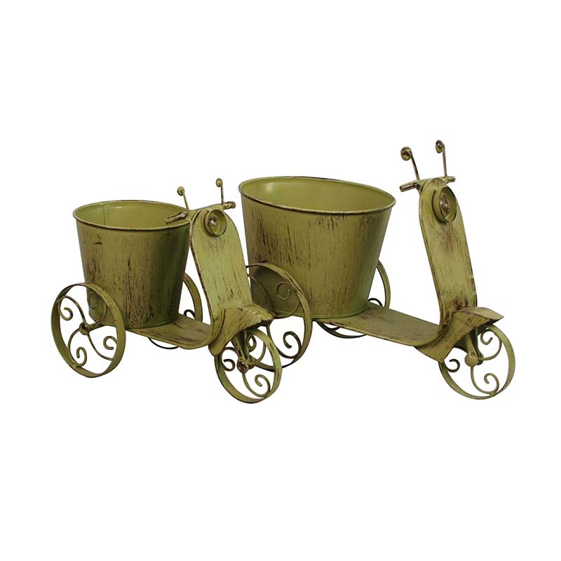 Irregular Shape Metal Planter