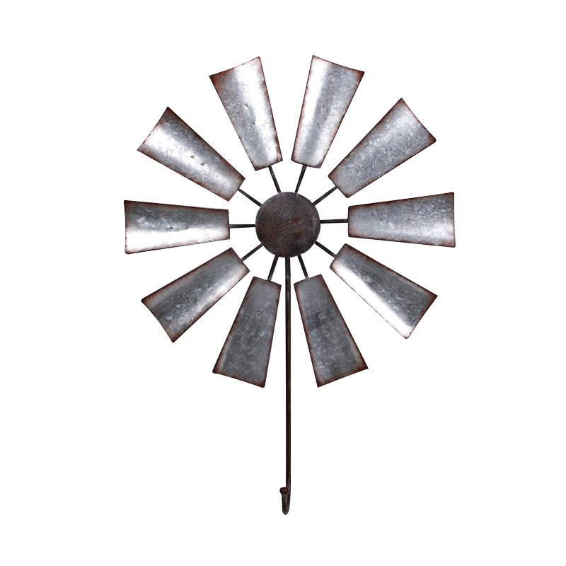 Large Windmill Single Hook Home Decoration Wall Hook