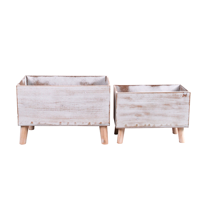 Rectangular MDF Wood Planter