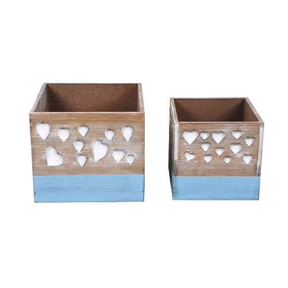 Square Mdf Wood Planter Planter