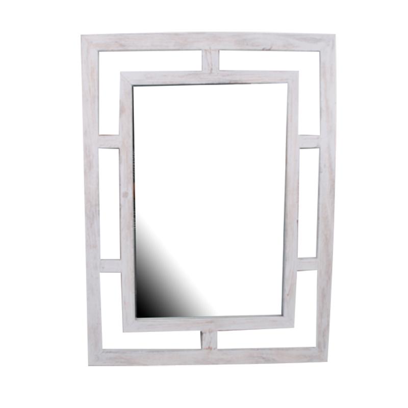Square Mirror Multi-colored