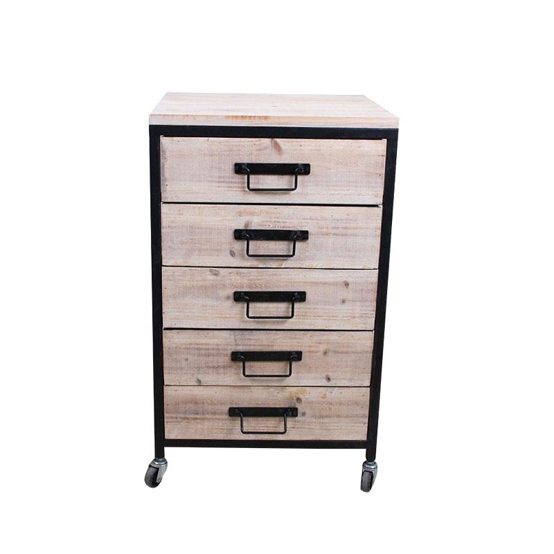 White Wash Wood Cabinet