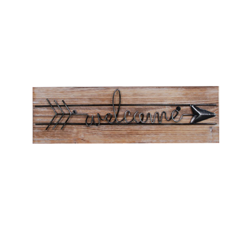 Wood Signs Home Decoration