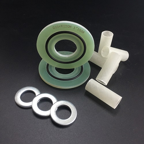 The application of flange insulation gasket