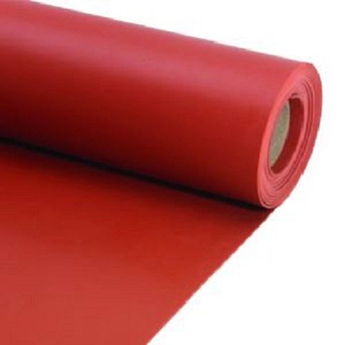 Abrasion Resistant Red SBR Rubber Sheet